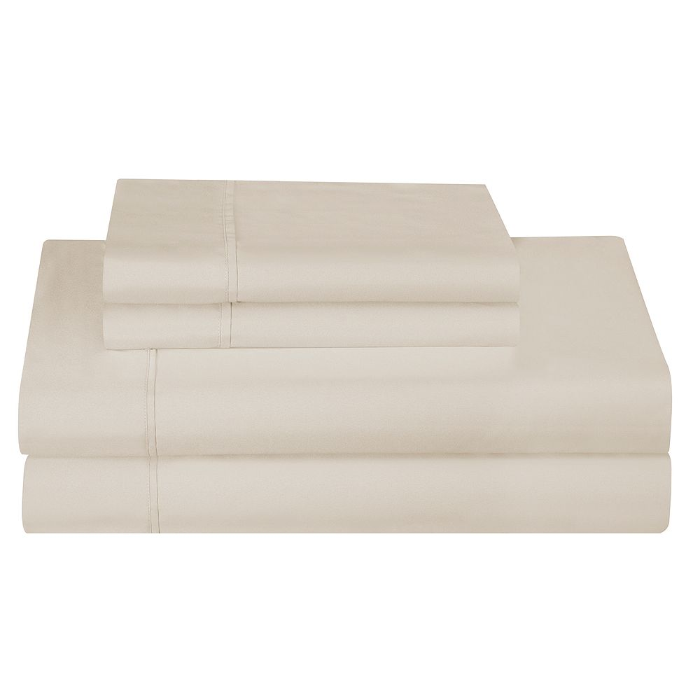 Company Ellen Tracy Brushed Microfiber Smooth Sheet Set