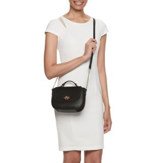 LC Lauren Conrad Perle Solid Crossbody Bag