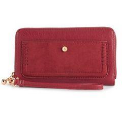 LC Lauren Conrad Rue Solid Wallet