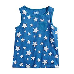 Toddler Boy Jumping Beans® Stars Pocket Tank Top