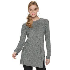 Women's Apt. 9® Asymmetrical Pullover Sweater