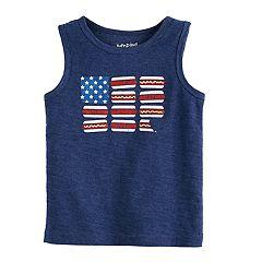 Toddler Boy Jumping Beans® USA Patriotic Tank Top