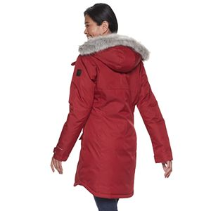 Women's Columbia Suttle Mountain Hooded Long Insulated Jacket