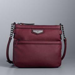 Simply Vera Vera Wang Erie Crossbody Bag