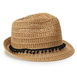 Women's SONOMA Goods for Life? Open-Work Fedora