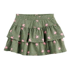 fb4ce83f6 Toddler Girl Jumping Beans® Printed Tiered Skort