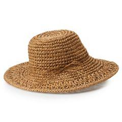Women's SONOMA Goods for Life™ Crochet Floppy Hat