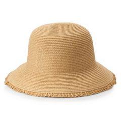 Women's SONOMA Goods for Life™ Ruffle-Edge Cloche Hat
