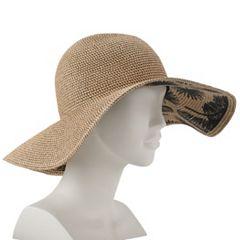 bf5797bc Women's SONOMA Goods for Life™ Palm Print Floppy Hat