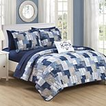 Chic Home Eliana Quilt & Sham Set