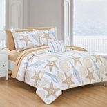 Chic Home Maritime Quilt Bed Set