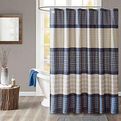 Woolrich Flagship Printed Plaid Shower Curtain
