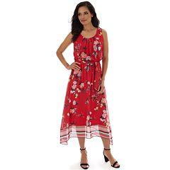 a8a3599e0 Women's Apt. 9® Sleeveless Sharkbite Maxi Dress