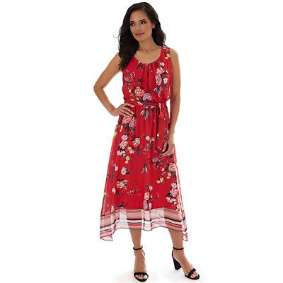 Women's Apt. 9® Sleeveless Sharkbite Maxi Dress