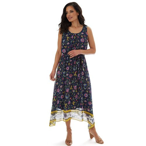 Women's Apt. 9® Sleeveless Sharkbite Maxi Dress