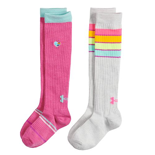 cd772065ec9 Girls 4-16 Under Armour 2-pack Knee High Socks