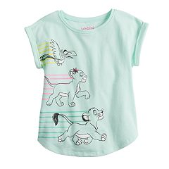 010f152d6d4 Disney's The Lion King Simba & Nala Toddler Girl Graphic Tee by Jumping  Beans®