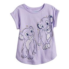 cd9db314960c7 Disney s The Lion King Simba   Nala Toddler Girl Graphic Tee by Jumping  Beans®