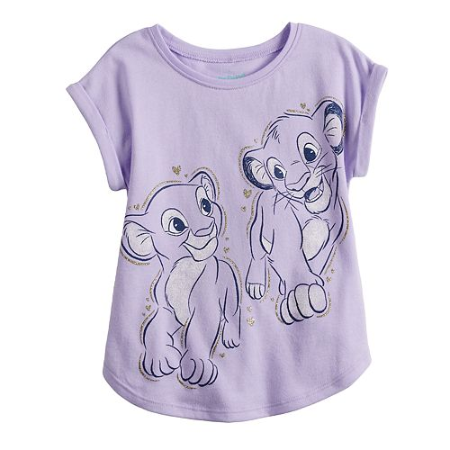 dbbe7624046f Disney's The Lion King Simba & Nala Toddler Girl Graphic Tee by Jumping  Beans®