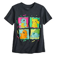 0fcf4bbf19 Boys 4-12 Jumping Beans® Pokemon 4-Square 90's Tee