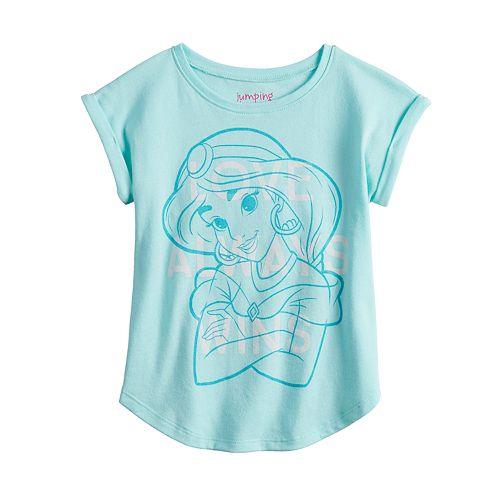 Disney's Aladdin Princess Jasmine Toddler Girl Graphic Tee by Jumping Beans®