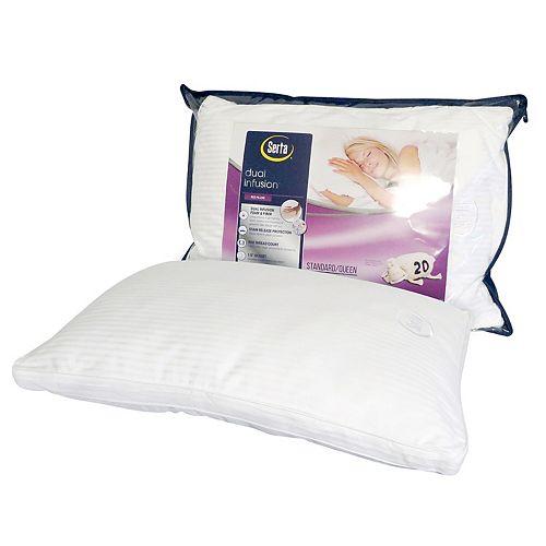 Serta Pillows Gel Foam Cluster Set Of 2 BRAND NEW✔️