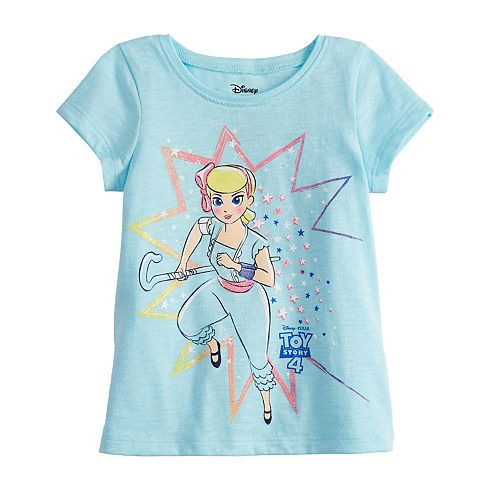 Disney's Toy Story Baby Girl Glittery Graphic Tee by Jumping Beans®