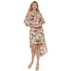 6ba5cc5109fd7 Women s Apt. 9® Cold Shoulder Hi-Low Dress