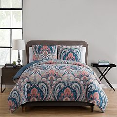 VCNY Casa Re`al Reversible Duvet Cover Set