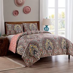 VCNY Palaci Damask Duvet Cover Set
