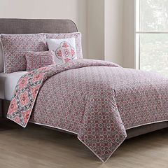 VCNY Winsted Quilted Duvet Cover Set