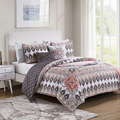 VCNY Valeria Reversible Duvet Cover Set