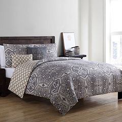 VCNY Belinda Reversible Medallion Duvet Cover Set