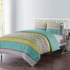VCNY Dharma Embellished Duvet Cover Set