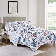 VCNY Eiffel Tower Reversible Duvet Cover Set