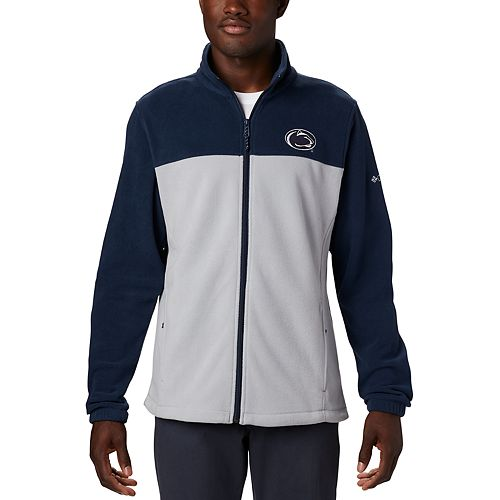 Men's Columbia NCAA Penn State Nittany Lions Collegiate Flanker III Fleece Jacket
