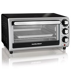 NEW! Hamilton Beach 4-Slice Toaster Oven