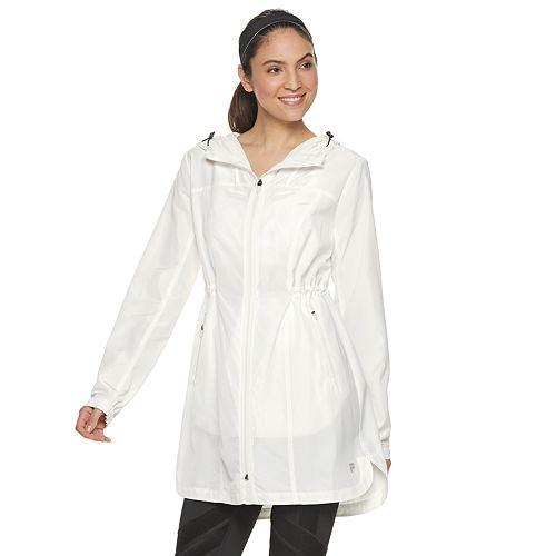 Women's FILA SPORT® Long Windbreaker Jacket