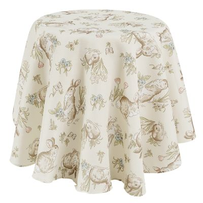Celebrate Easter Together Easter Bunny Tablecloth