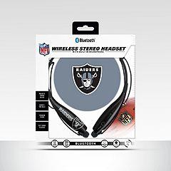 Oakland Raiders Bluetooth Wireless Stereo Headset