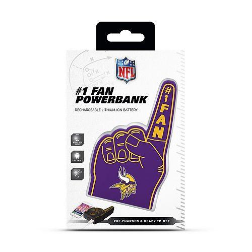 Minnesota Vikings Fan Finger Powerbank