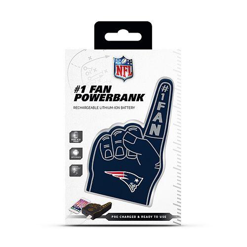 New EnglandPatriots Fan Finger Powerbank