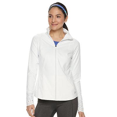 Women's FILA SPORT® Laser-Cut Jacket