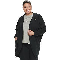 Plus Size Nike Cardigan