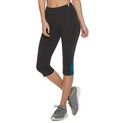Women's FILA SPORT® Pop Hem Midrise Capri Leggings