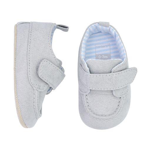 Baby Boy Carter's Gray Chukka Crib Shoes