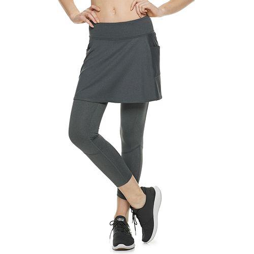Women's Tek Gear® Performance Side Pocket Skirted Leggings