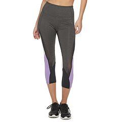 aae7299bf04b Women's FILA SPORT® Colorblock Mesh High-Waisted Capri Leggings