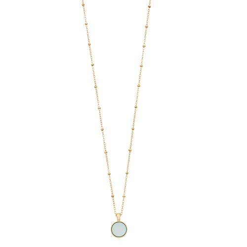 LC Lauren Conrad Disc Necklace