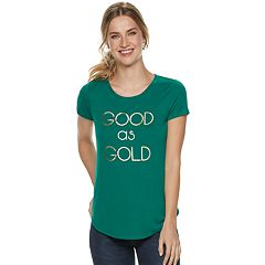 4454664c2ea9e9 Women s Apt. 9® St. Patrick s Day Graphic Tee